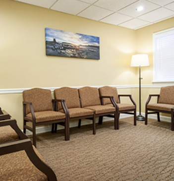 barksdale dental waiting area